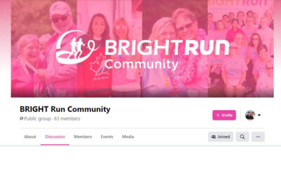 New for You: BRIGHT Run Community Group