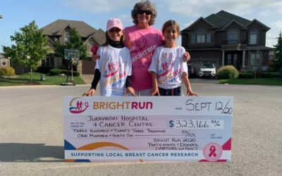 Our Virtual BRIGHT Run – Pink on Jake