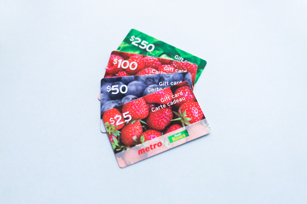 Grocery Gift Cards